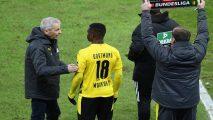 Dortmund's Cameroon-born Moukoko becomes youngest ever Bundesliga player
