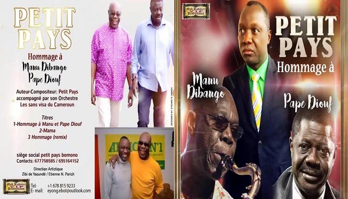 King of Makossa Love Petit Pays pays homage to Manu Dibango, Pape Diouf on new album