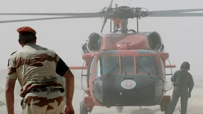 American, French and Czech peacekeepers killed in helicopter crash in Egypt