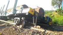 French Cameroun: Goods train derail in Eseka
