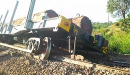 French Cameroun: Goods train derail in Eseka