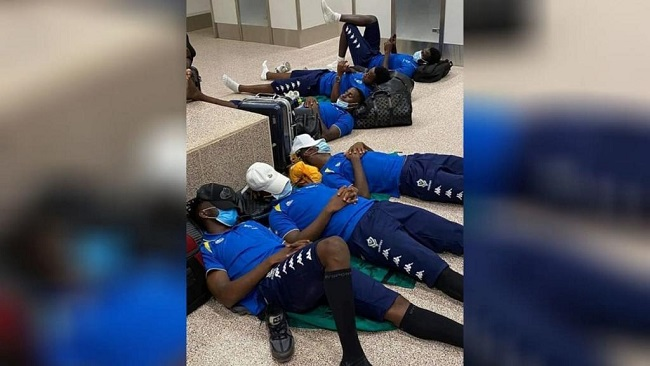 Africa Cup of Nations: Gambia fined for letting Gabonese team sleep on airport floor