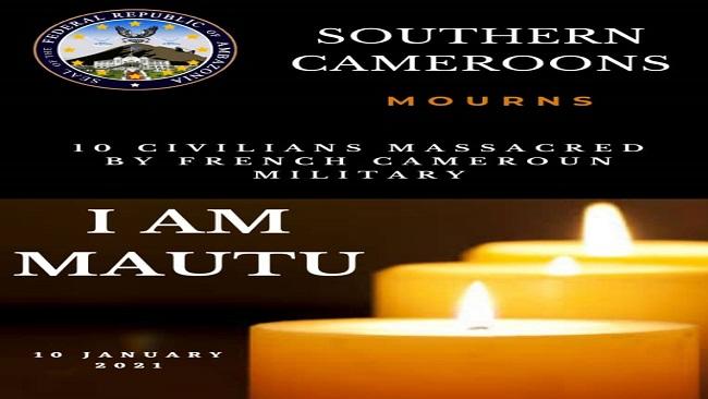 Mautu Massacre: Rights group says Cameroon army killed 8 civilians