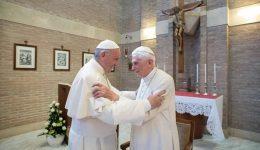 Pope Francis, ex-pope Benedict get virus vaccines