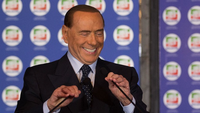 Berlusconi hospitalised with heart problem
