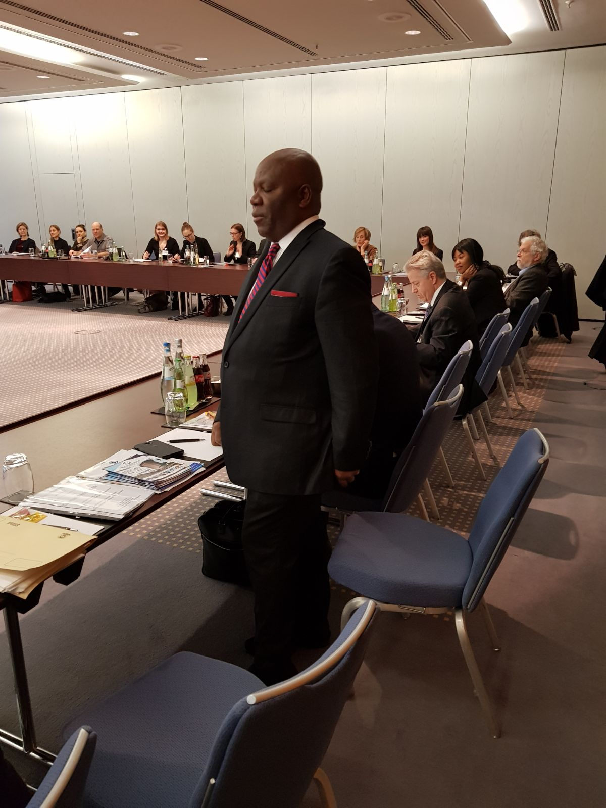 Berlin: African Bar Association President calls for the release of Ambazonian leaders