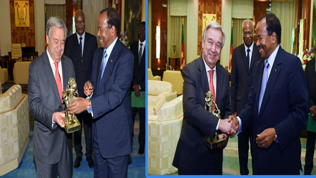 Corrupt Gutteres: Cameroon among African representatives on UN Human Rights Council