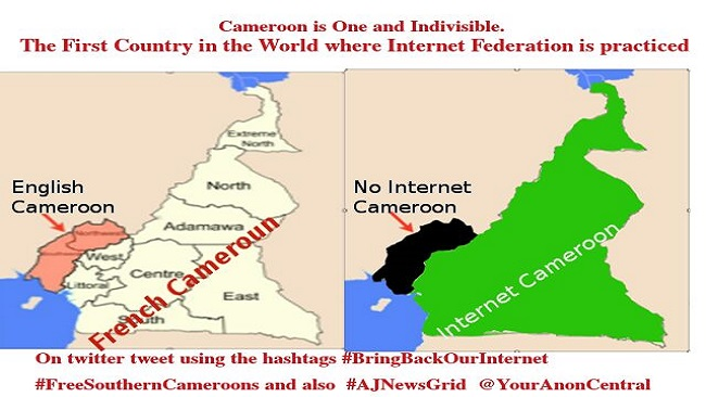 Visit of CAF Delegation to Ambazonia leads to temporary internet access in Ambaland