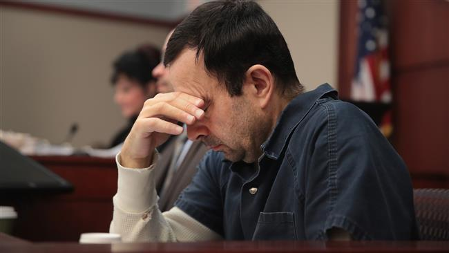 Ex-US gymnast doctor sentenced up to 175 years in jail for sexual abuse