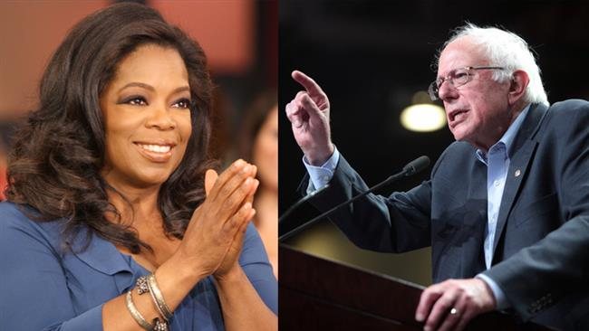 Trump believes he could beat Sanders; aides concerned about Oprah challenge