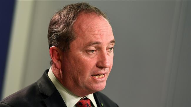 Australia's scandal-hit deputy PM resigns
