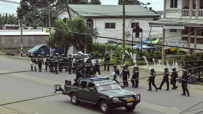 La Republique imposes curfew in Southern Cameroons
