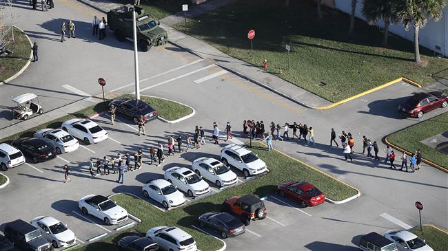 US: At least 17 dead in Florida school shooting