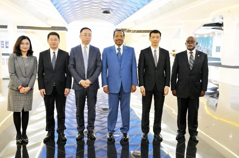 Beijing: China's top legislator meets Biya
