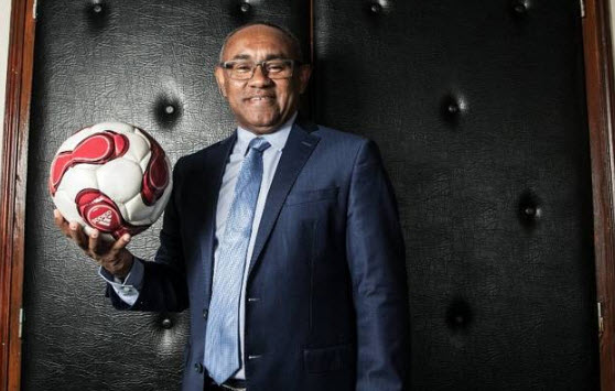 CAF president arrives in Yaoundé for CHAN final