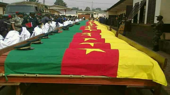 Biya regime says Ambazonia fighters have killed over 100 security forces
