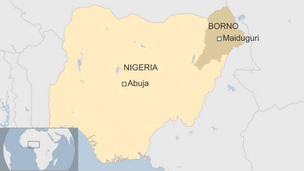 Nigeria: Two female suicide bombers die and nine hurt in attack on Maiduguri