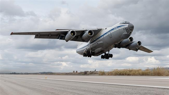 Russian cargo plane crashes in eastern Syria, 39 killed