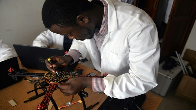 Cameroonian launches drones for global market