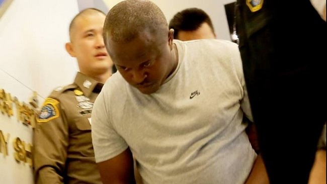 419: Cameroon men arrested as alleged 'Black Money' gang members in Thailand