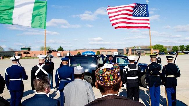 Nigeria: Buhari in the U.S. ahead of meeting with Trump