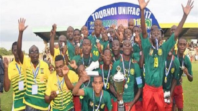 French Cameroun wins UNIFFAC U-17 championship