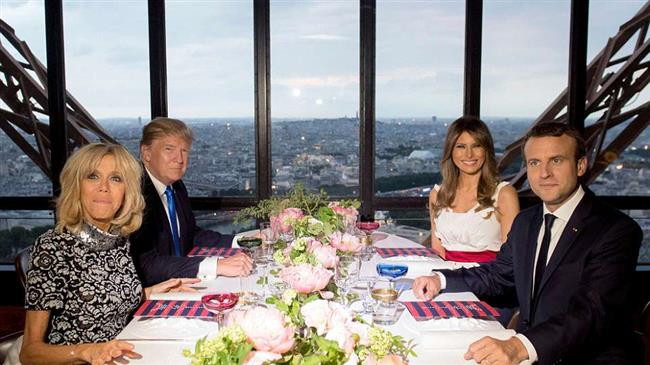 Macron in US for 3 days, will attend first Trump state dinner