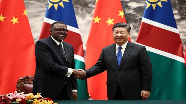 Namibia President says Africa-China relations has no colonization motives