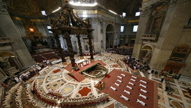 Pope Francis to new priests: Be like Jesus the Good Shepherd