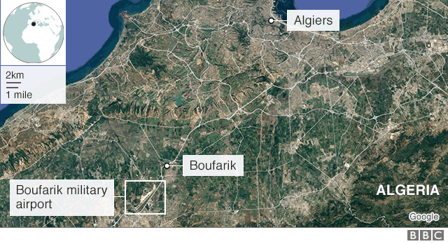 At least 257 dead after military plane crash in Algeria