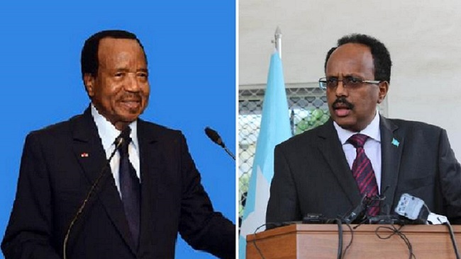 Cameroon, Somalia presidents speak on World Press Freedom Day