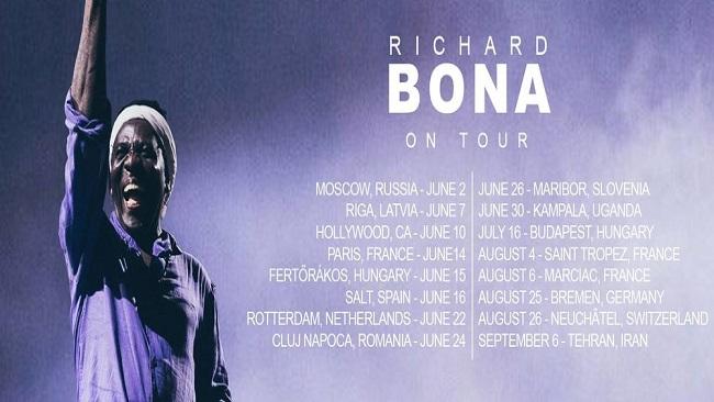 Richard Bona to give concert in Tehran