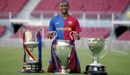 Eto'o not happy with Barcelona's poor results