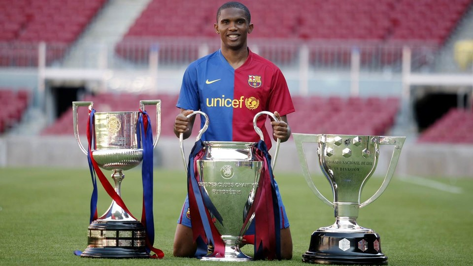 "Samuel Eto'o at 40: Pep Guardiola bust-up, ""s***"" Jose Mourinho claim and 13-club career"