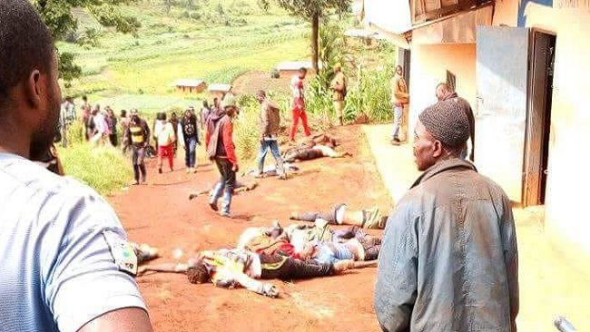 "Biya regime says Menka death toll from ""clashes"" rises to 32"