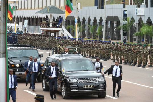 Remembering Biya: French Cameroun dictator absent from EMIA's graduation