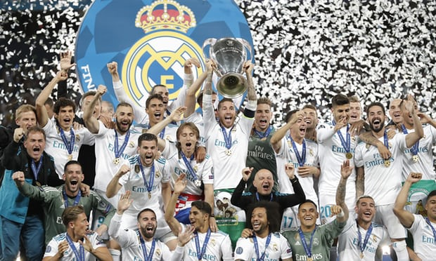 Champions League:Bale sinks Liverpool as Real Madrid make it three in a row
