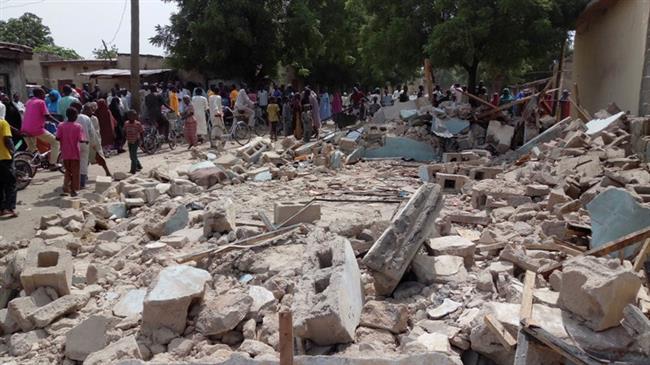 Five killed in Boko Haram bomb attack in Nigerian village