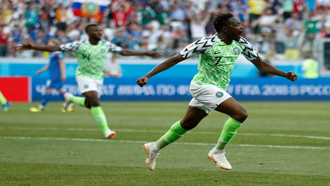 Nigeria Finds World Cup Magic Against Iceland