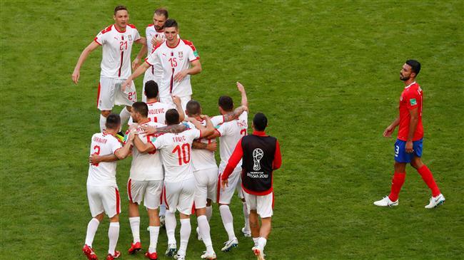 Serbia defeats Costa Rica 1-0 in FIFA World Cup Group E meet