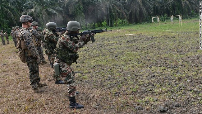 US Military Trains Cameroon Troops on Medical Evacuations