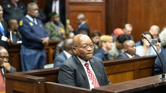 South Africa: Former President Zuma appears in court on corruption charges