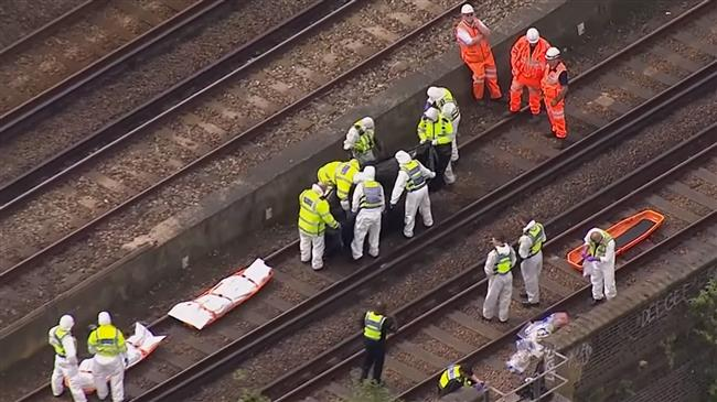 London: Three killed after being hit by train
