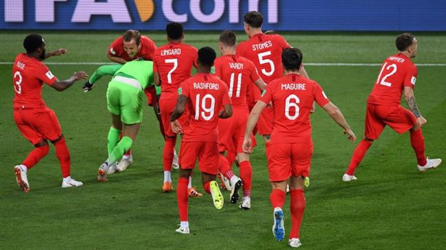 2018 World Cup: England beat Colombia 4-3 on penalties