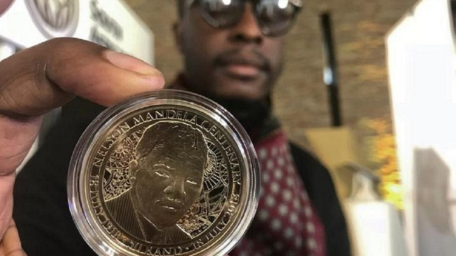 South Africa launches notes and coins for 100th anniversary of Mandela's birth
