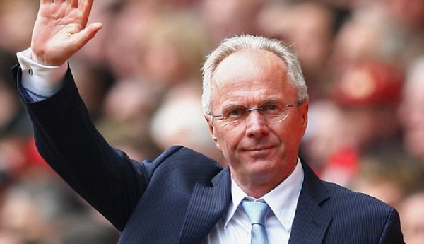 Former England boss Sven-Goran Eriksson spotted in Yaounde