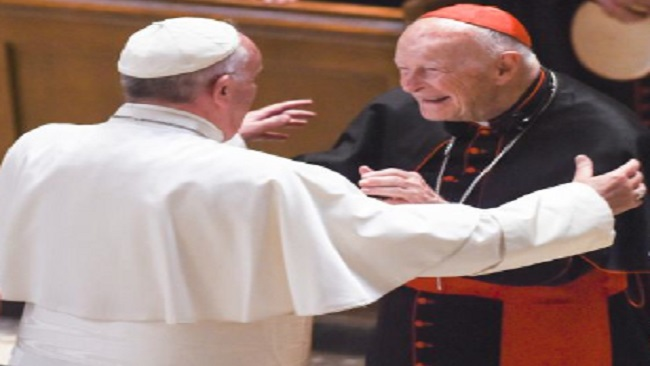 Former United States Nuncio says Pope Francis knew about the McCarrick Scandal and should resign