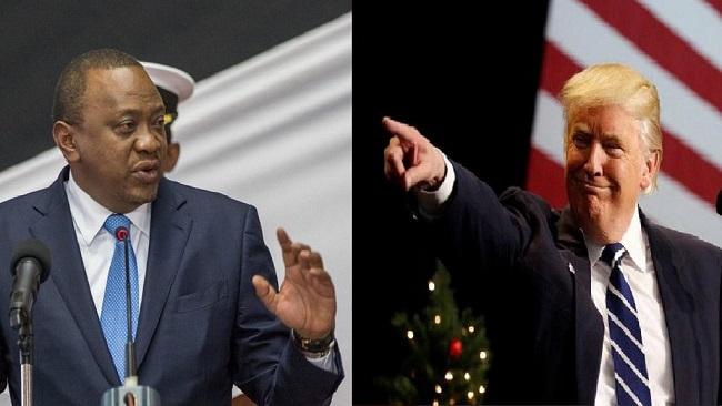 White House confirms August 27 Kenyatta-Trump meeting
