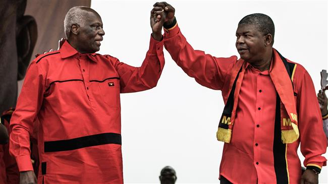 Angola's former president steps down as party chief after 4-decade rule