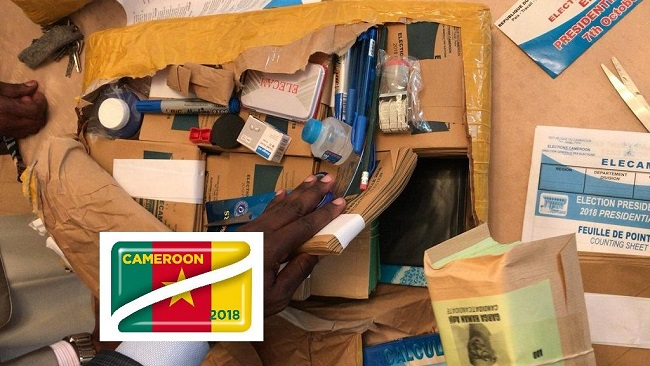 Cameroon presidential poll materials ready